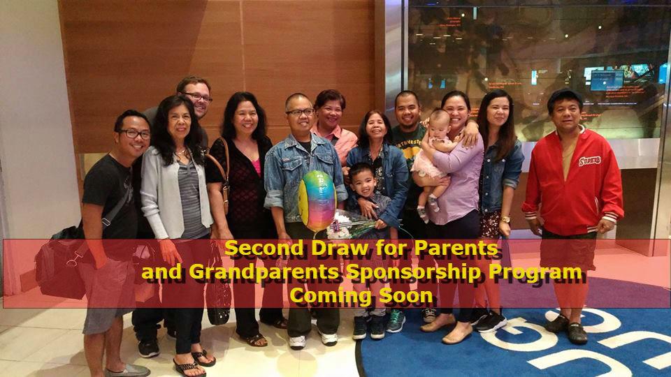 Ircc Plans Second Parent Grandparent Sponsorship Draw Soon